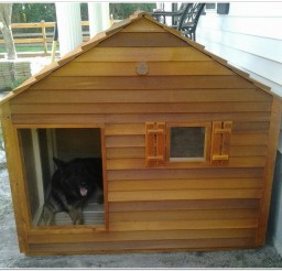 816x763px Giant Cedar Dog House Image Ideas Picture in Dog