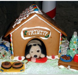 816x654px Gingerbread Dog House For Santa Picture Ideas Picture in Dog