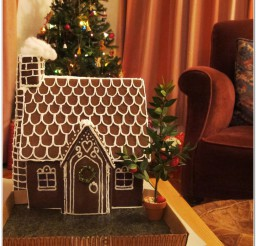 816x837px Gingerbread Dog House Template Photo Inspirations Picture in Dog